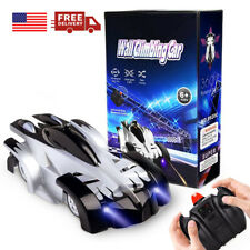 Wall Climbing Remote Control Car Radio Controlled Stunt RC Racing Kids Toys US