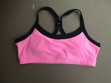 Women/'s Avia Activewear Top with Built in Bra NWT Sunkist Coral