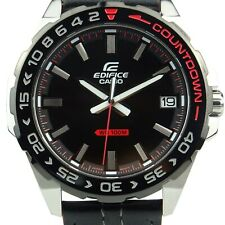 Casio Edifice EFV-120BL-1AV Quartz Men's Watch *** NEW IN THE BOX ***