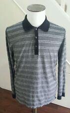 HUGO BOSS Striped Cotton Button Down Men's Casual Shirts & Tops