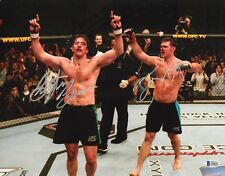 Forrest Griffin Stephan Bonnar Signed 11x14 Photo BAS COA UFC Ultimate Fighter 7