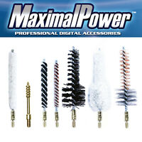 MaximalPower 7PC Gun Cleaning Bore Brushes Combo -.22/.243/.270/.30cal