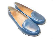 DANSKO Blue Leather Flats Women's Size 38 Medium EUC