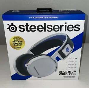 SteelSeries Arctis 7P Wireless Gaming Headset for PlayStation 5 - WHITE