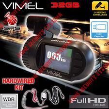 Dashcam  GPS 32GB Hardwired Anti Theft  Parking mode Super capacitor 1080 Truck