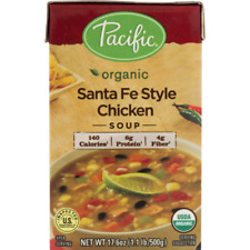 Pacific Foods Organic Santa Fe Style Chicken Soup 17.6 oz ( Pack of 3 )