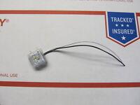 Whelen OS LED Marker Light White Steady Burn 01-026A086-32 NOS