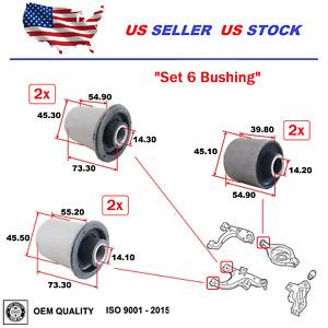Rear Lower Control Arm Bushing For Nissan Pathfinder 2005-2012 Armada 2006-2015