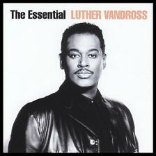 LUTHER VANDROSS (2 CD) THE ESSENTIAL CD ~ 90's SOUL / R&B *NEW*