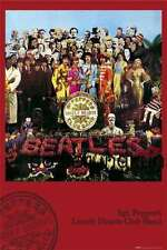 Beatles Sergeant Peppers lonely heart  Poster 92x61 cm