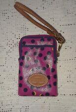 Fossil PVC Coated Wristlet Wallet Phone Case EUC