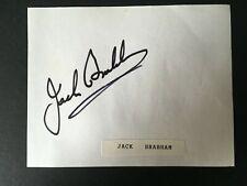 New listing JACK BRABHAM - LEGENDARY AUSTRALIAN Grand Prix DRIVER - SIGNED ALBUM PAGE