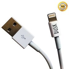 Dusk® 8 Pin Charger and Sync Lead Cable For Apple iPhone 5 5s 5C 6 6 PLUS *X2*
