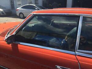 1972 - 89 Mercedes Benz 450SL 380SL 560SL Driver Side LH Door Window Glass OEM