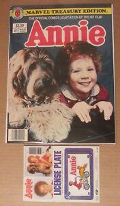 Annie Treasury Edition #1 (1982) NM...Rare original case find w/license plate!