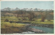 Trinidad CO Snowy Range Fred Harvey-Santa Fe Railway Postcard c1915