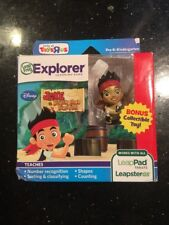 LeapFrog Explorer Jake and The Never Land Pirates Bonus Toy New