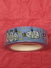 Square Lime Designs Message in A Bottle Washi Tape