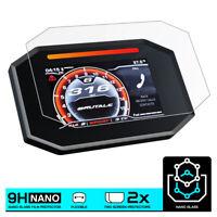 MV AGUSTA SUPER VELOCE 800 / SERIE ORO (2020-) NANO GLASS Screen Protector X 2