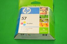HP  57 Colour Ink Cartridge C6657AE ABB  Genuine Original Date 2008
