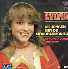 """SYLVIA – De Jongen Met De Mondharmonika (1982 VINYL SINGLE 7"""")"""