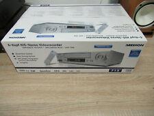 6 testa HI-FI STEREO VHS Medion md42277 inutilizzato in OVP 12 mesi di garanzia *