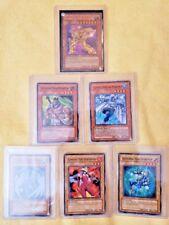 Yugioh! Elemental Hero 1st Edition 6 Card LOT