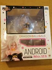 DRAGON BALL Z FIGHTERZ GALS ANDROID # 21 TRANSFORMED VER. FIGURE - NEW SEALED