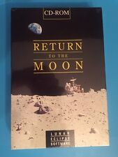 Return To The Moon Lunar Eclipse Software Cd Rom 1993 Factory Sealed New Vintage
