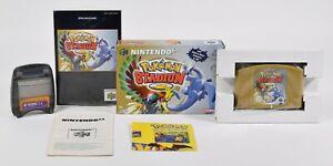 Nintendo N64,Pokémon Stadium 2 inkl. Transfer Pak PAL,OVP,Anleitung