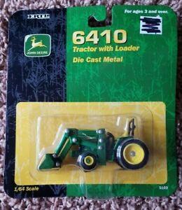 1/64 Ertl John Deere 6410 Tractor With 640 Loader #5169 Die Cast Metal