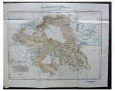 1926 Visser - EXPLORING KARAKORAM - Discovering Glaciers - MAPPING - Pre-Book 12