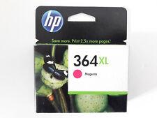 HP 364 XL 364XL Magenta 750p CB324EE CARTOUCHE ORIGINALE GENUINE New