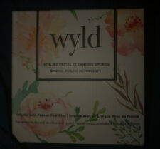New In Box! Wyld Konjac Facial Cleansing Sponge - Infused with French Pink Clay