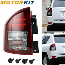 Rear Left LED For Jeep Compass 14-17 Driver Side Tail Light Lamp Assembly SUV