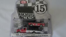 Ford F350 rampe camion & Mustang Boss 302 69 PARNELLI JONES #15 1/64