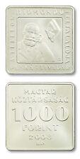 Hungary Tivadar Puskas and Telephone 1,000 Forint 2008 BU Square Coin