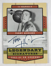 Tommy Heinsohn AUTO 2003-04 Upper Deck Legends Autograph