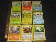 Pokemon Card Ash-themed: Pikachu, Bulbasaur, Charmander, Squirtle, Butterfree, +