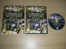 Chronicles Of Mystery - SECRET OF THE LOST KINGDOM  Pc Cd Rom nm FAST DISPATCH
