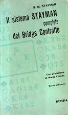 DT Il sistema Stayman completo del bridge contratto Mursia 1972
