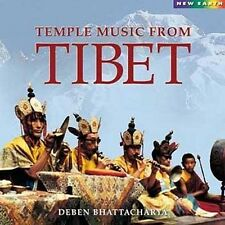 TEMPLE MUSIC FROM TIBET - Deben Bhattacharya.. CD ......... NEW