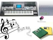 MIDI File Karaoke Floppy Disk Set for PSR 9000 NEW Volume 2