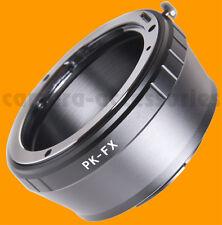 Pentax Pk K Lente Fuji X-mount Anillo Adaptador Xf Xc Fujifilm x-e2 Xe2 Pro1 M1 A1