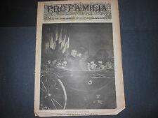 1919 VISITA DI WILSON IN ITALIA ROMA VATICANO MILANO SAVOIA PRINCIPE COLONNA