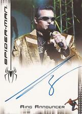 """Spider-man 3 - Bruce Campbell """"Ring Announcer"""" Autograph Card"""