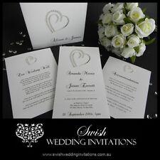 Heart of Diamonds Wedding Invitations & Stationery - Samples Invites ONLY $1