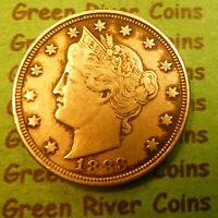 1883 Liberty Head Nickel No Cents #83S NC   Better Grade