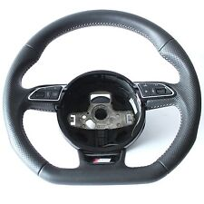 Audi S Line A3 S3 8V RS Q3 A1 Steering Wheel Flat Bottom Multifunction Sports
