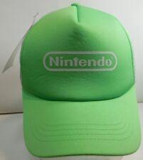 NEW with Tags NINTENDO VIDEO GAME RETRO LOGO Baseball Cap Trucker Hat NWT